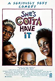 Spike Lee, Tommy Redmond Hicks, Tracy Camilla Johns, and John Canada Terrell in She's Gotta Have It (1986)