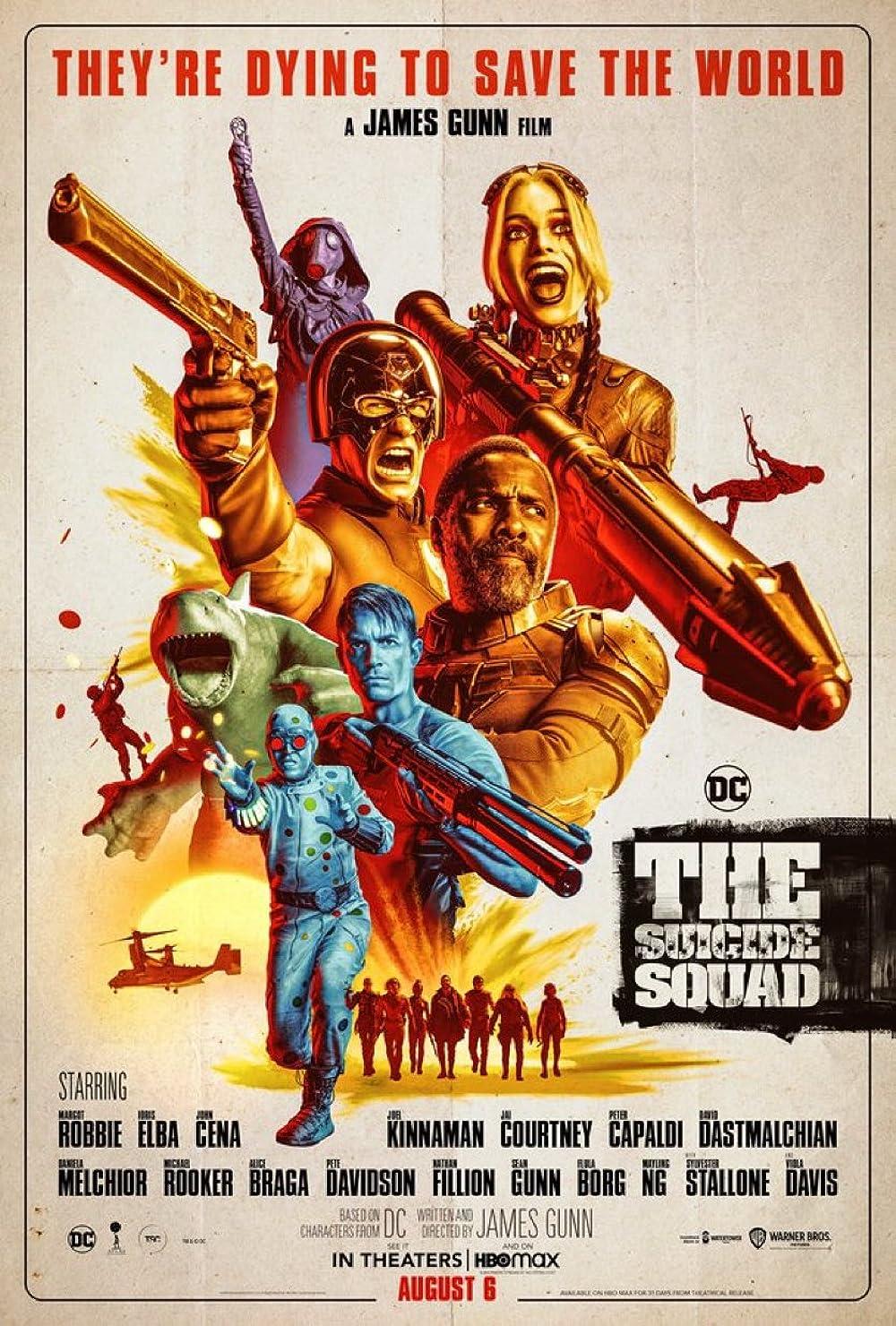 The Suicide Squad 2021 Hindi Dual Audio 720p | 480p WEB-Hd x264