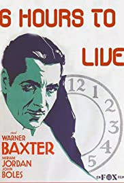 6 Hours to Live Poster