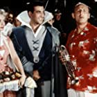 Bourvil, Annie Cordy, and Luis Mariano in Le chanteur de Mexico (1956)
