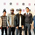 Stephen Boss, Harry Shum Jr., Don Le, Paul Dateh, Ross Ching, and George Wang at an event for 3 Minutes (2011)