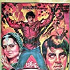 Rekha and Dharmendra in Ghazab (1982)