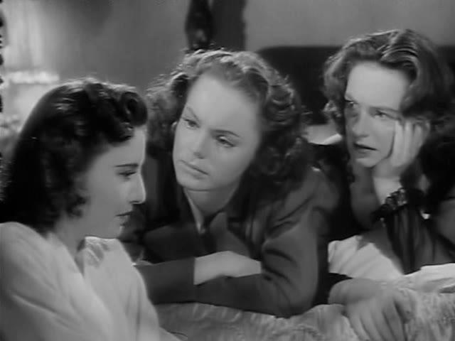 Barbara Stanwyck, Nancy Coleman, and Geraldine Fitzgerald in The Gay Sisters (1942)