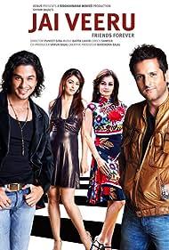 Fardeen Khan, Kunal Khemu, Dia Mirza, and Anjana Sukhani in Jai Veeru: Friends Forever (2009)