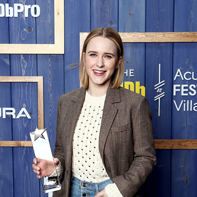 Rachel Brosnahan at an event for The IMDb Studio at Sundance: The IMDb Studio at Acura Festival Village (2020)