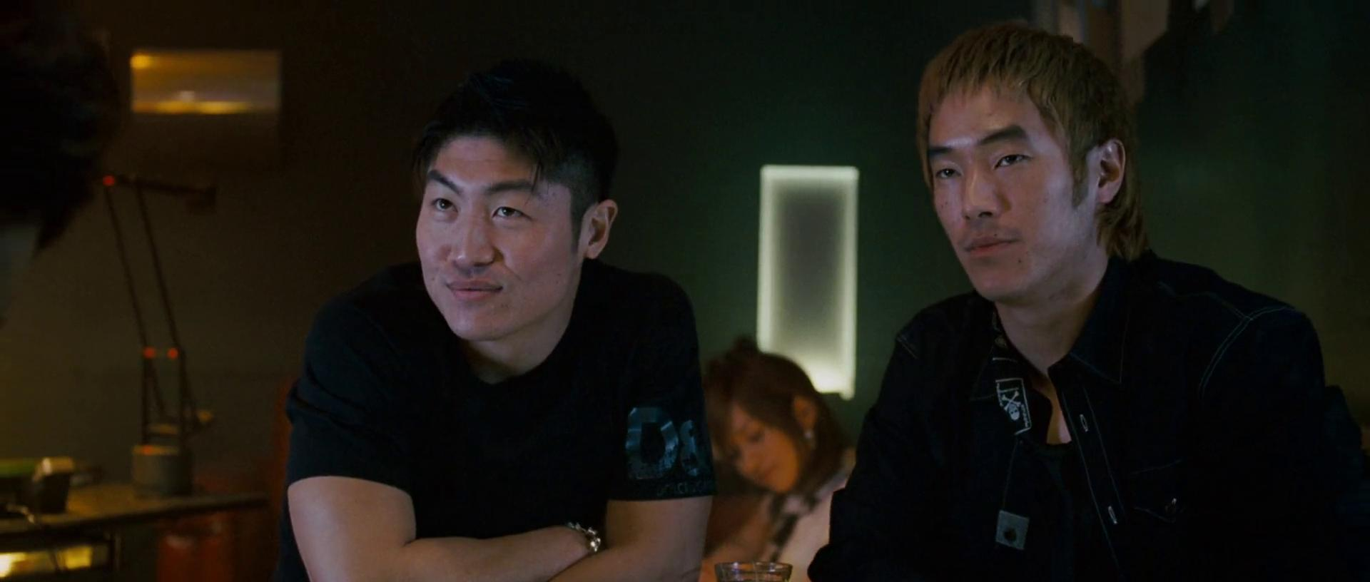 Brian Tee and Leonardo Nam in The Fast and the Furious: Tokyo Drift (2006)