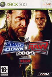 WWE SmackDown vs. RAW 2009 Poster