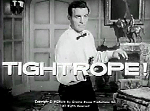 Mike Connors in Tightrope (1959)
