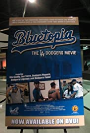 Bluetopia: The LA Dodgers Movie Poster