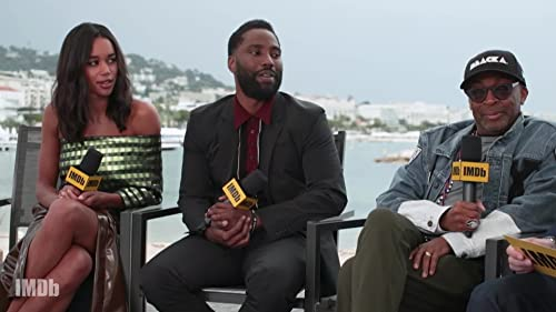 Spike Lee, John David Washington and Laura Harrier Dissect 'BlacKkKlansman'