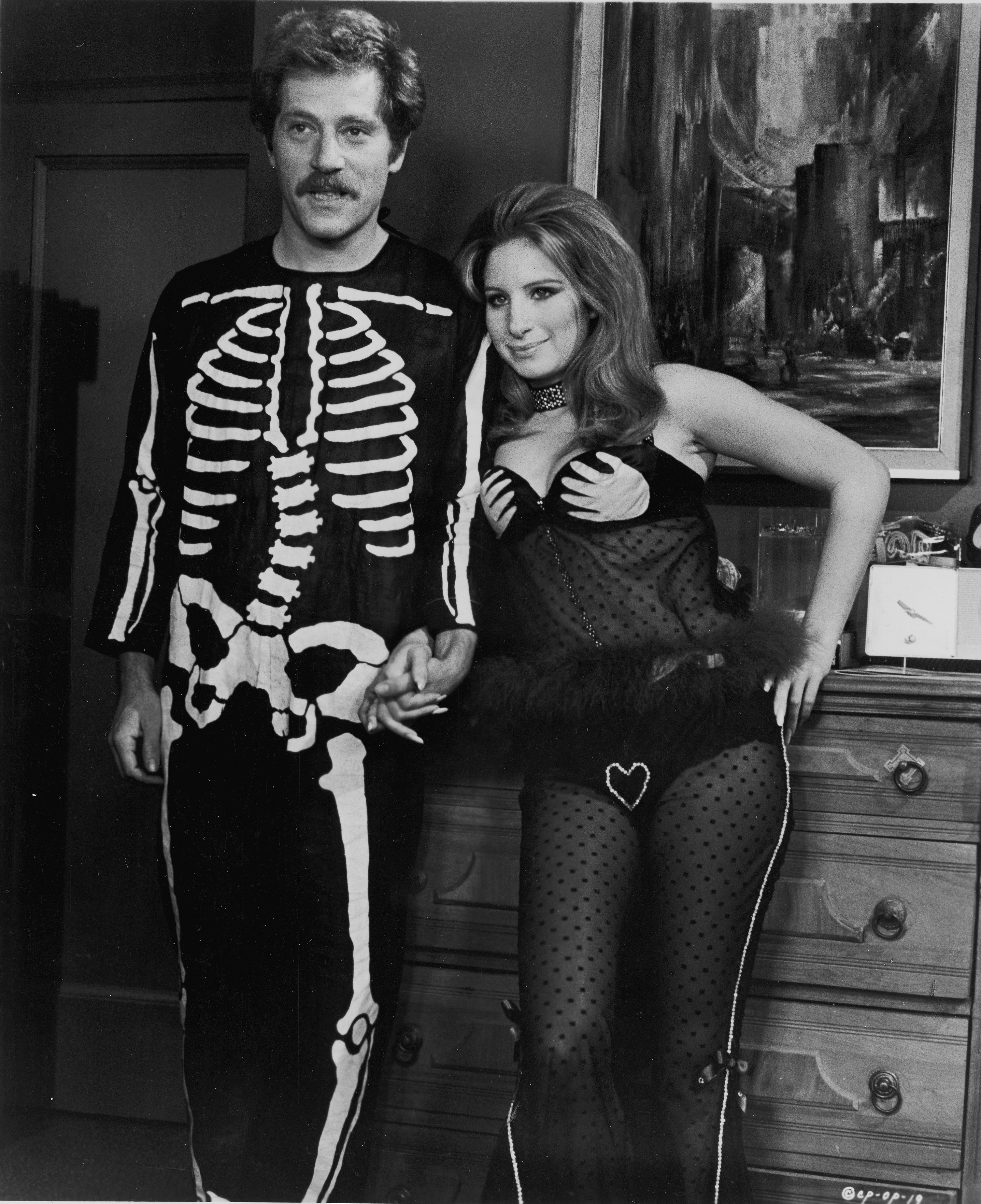Barbra Streisand and George Segal at an event for The Owl and the Pussycat (1970)