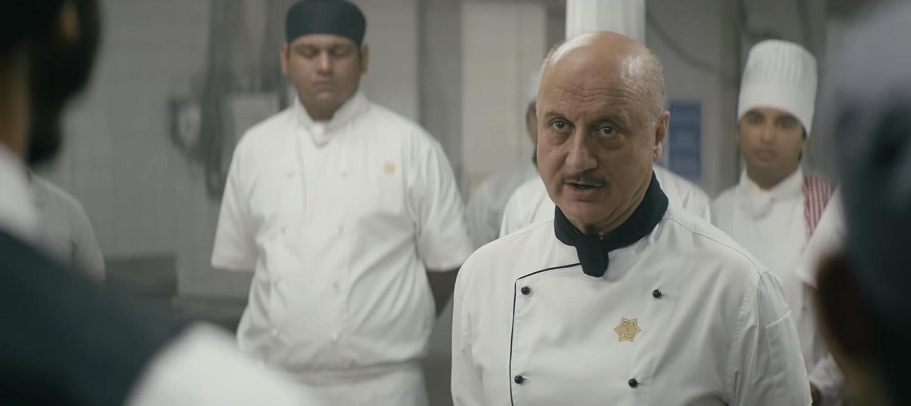 Anupam Kher in Hotel Mumbai (2018)