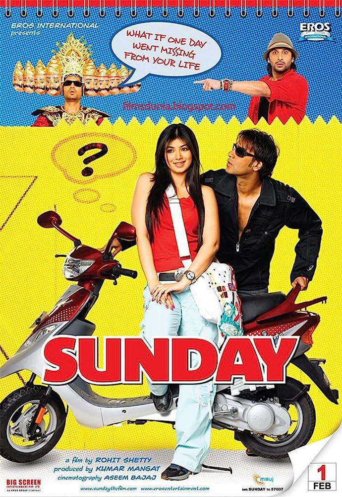 Sunday 2008 Hindi Movie 720p HDRip 895MB ESubs Download