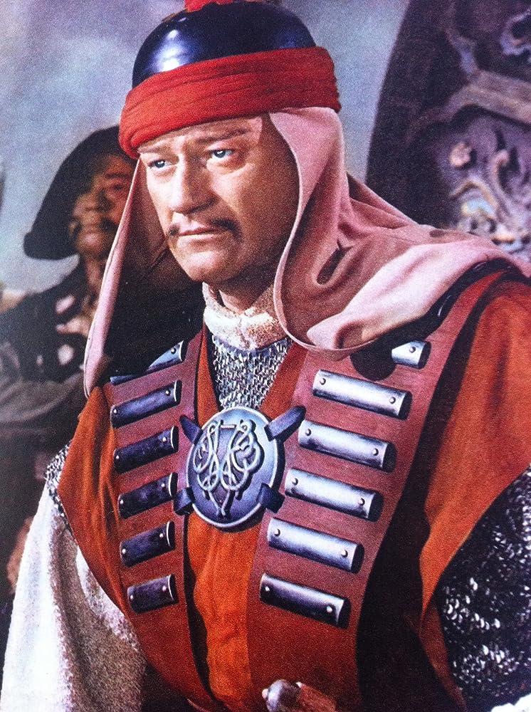 John-Wayne-The Conqueror-1956-Genghis-Kahn