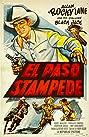 El Paso Stampede (1953) Poster