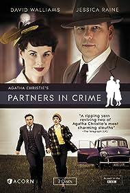 David Walliams and Jessica Raine in Partners in Crime (2015)