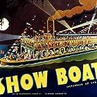 Irene Dunne, Donald Cook, Allan Jones, Francis X. Mahoney, Hattie McDaniel, Helen Morgan, Paul Robeson, Queenie Smith, Helen Westley, Sammy White, and Charles Winninger in Show Boat (1936)