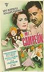 Mi campeón (1952) Poster