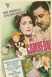 Mi campeón Poster