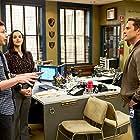 David Fumero, Melissa Fumero, and Andy Samberg in Brooklyn Nine-Nine (2013)