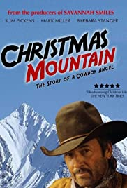 Christmas Mountain Poster