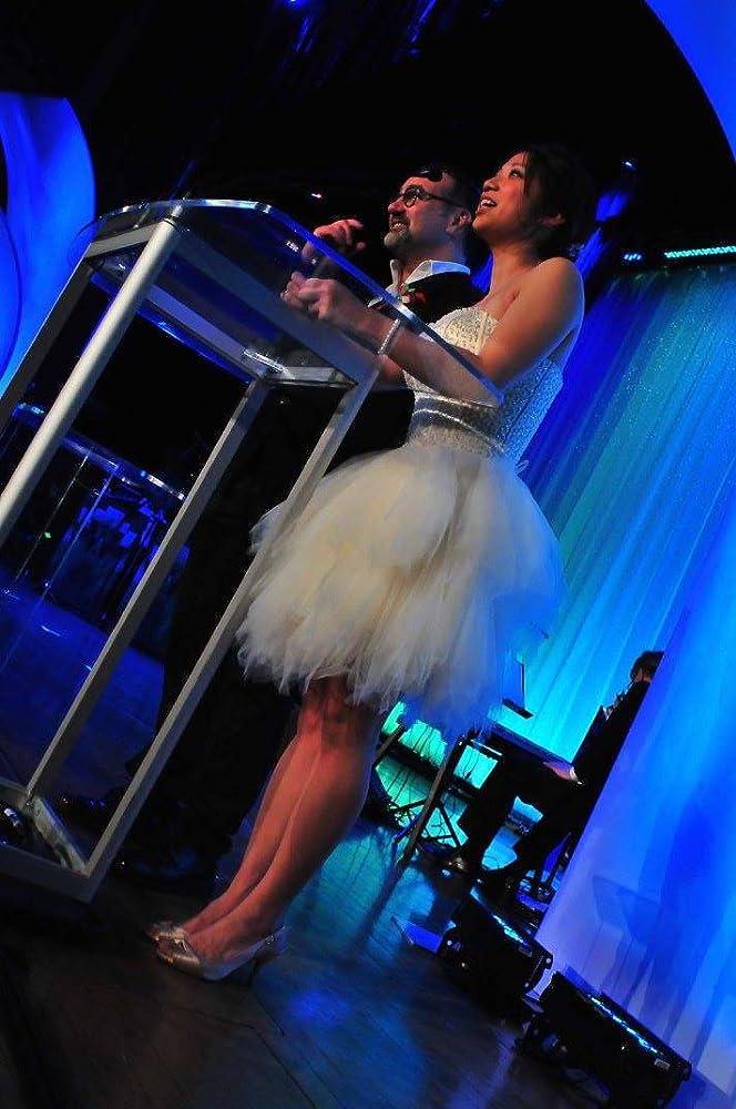 Tony Nappo and Amanda Joy presenting at the 2017 ACTRA Awards