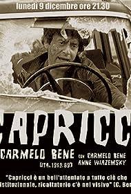 Carmelo Bene in Capricci (1969)