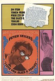 I Love You, Alice B. Toklas!(1968) Poster - Movie Forum, Cast, Reviews