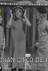 Gabriel Aragón 'Gaby', Emilio Aragón 'Miliki', Andrea Del Boca, and Fofito in El gran circo de TVE (1973)