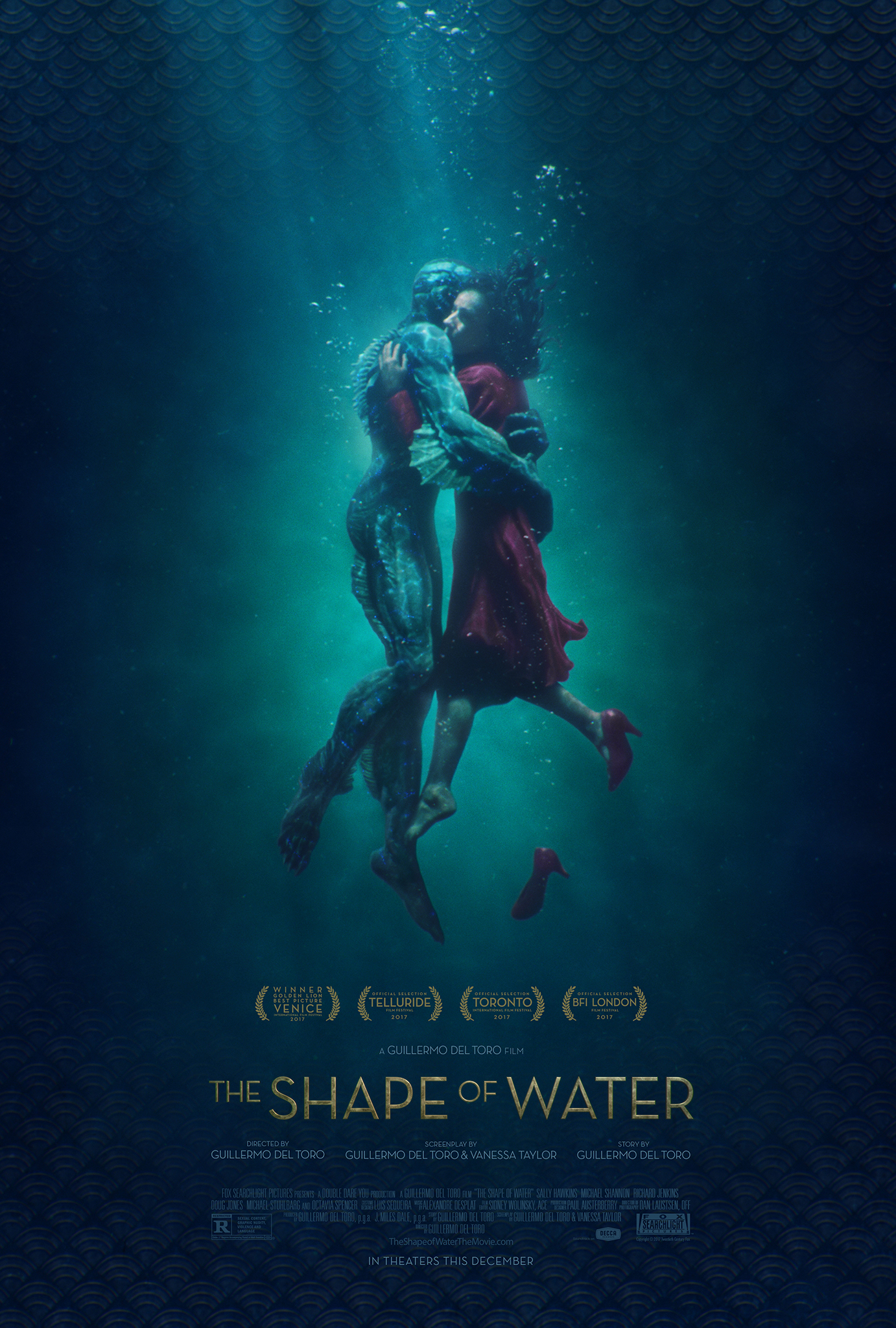 The Shape of Water 2017 Hindi Dubbed 720p BluRay ESubs 847MB Download