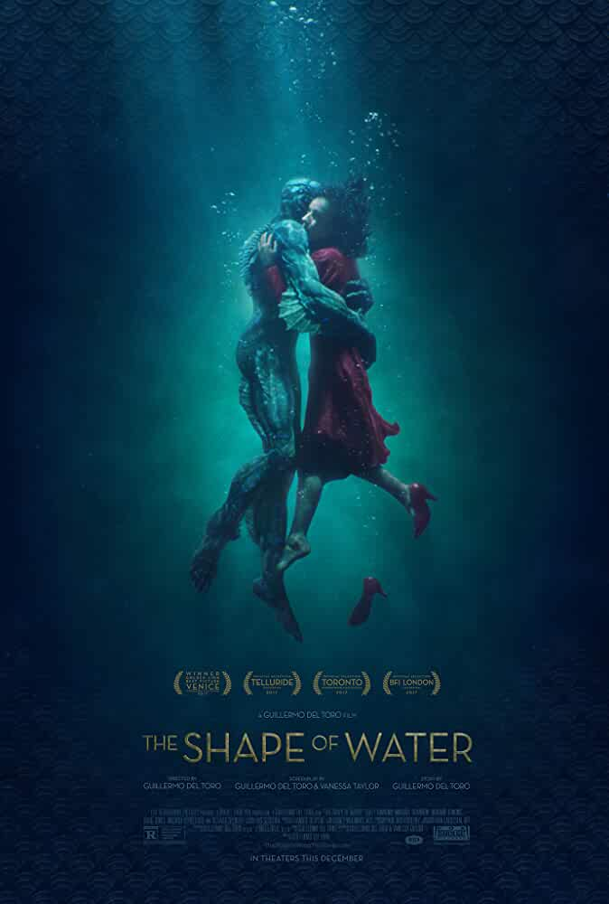 Doug Jones and Sally Hawkins in The Shape of Water (2017)