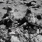 Jirí Sovák and Martin Tapák in Akce B (1952)