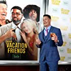 John Cena, Lil Rel Howery, Meredith Hagner, and Yvonne Orji at an event for Vacation Friends (2021)