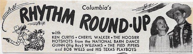 Ken Curtis and Cheryl Walker in Rhythm Round-Up (1945)