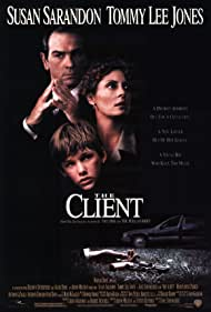 Tommy Lee Jones, Susan Sarandon, and Brad Renfro in The Client (1994)