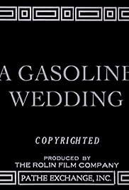 A Gasoline Wedding Poster