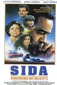 Omar Fierro and Leticia Perdigón in S.I.D.A., síndrome de muerte (1993)