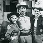 Kirby Grant, Ron Hagerthy, and Gloria Winters in Sky King (1951)