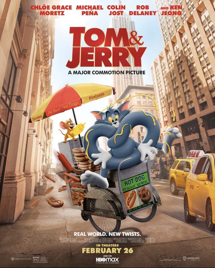 Tom and Jerry 2021 Hindi Dual Audio 350MB HDRip 480p ESubs