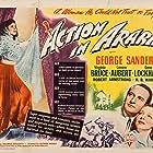 George Sanders, Lenore Aubert, and Virginia Bruce in Action in Arabia (1944)