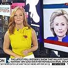 Hillary Clinton and Sarah-Jane Mee in Sky News: Sunrise (1989)