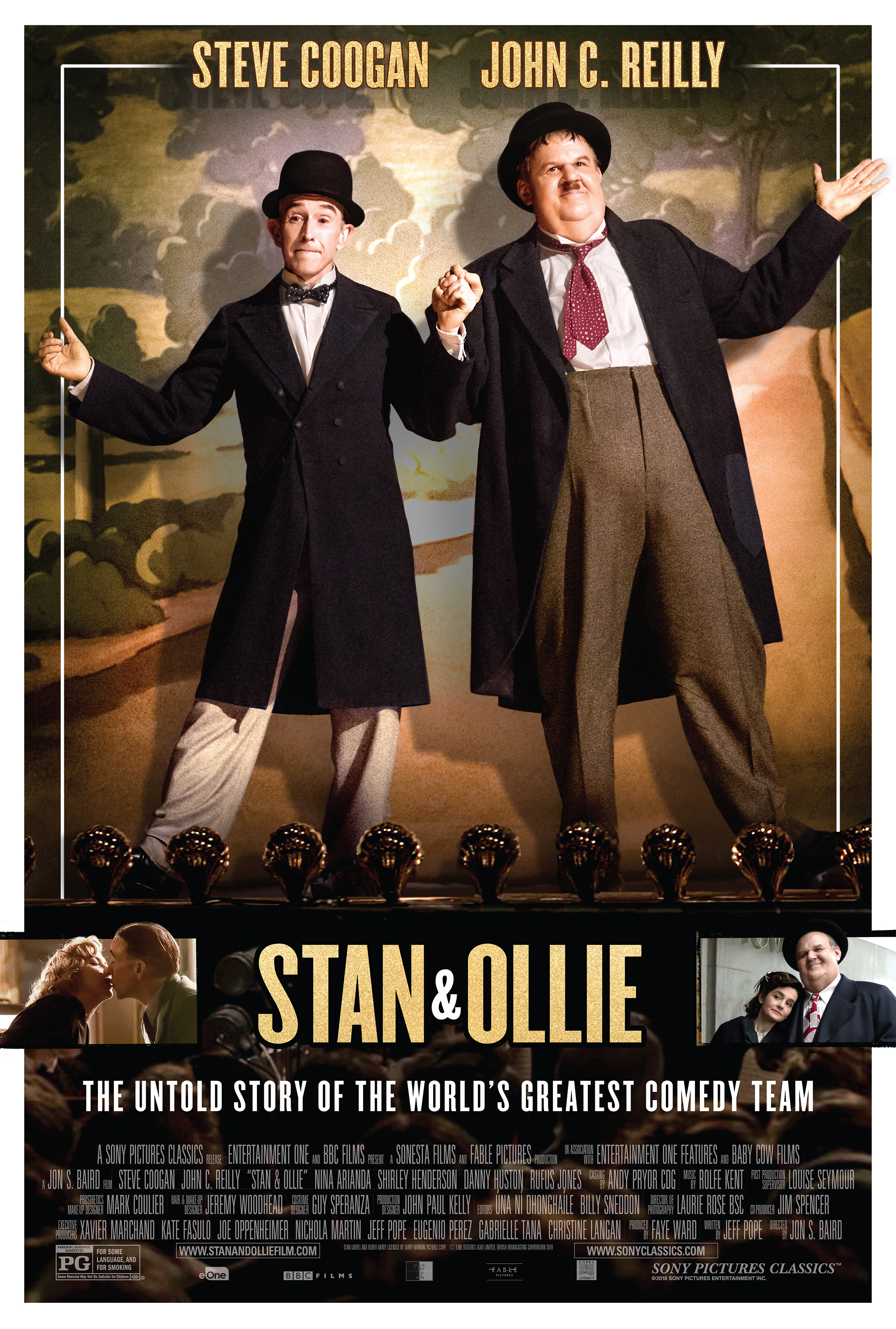 Image result for stan and Ollie movie poster