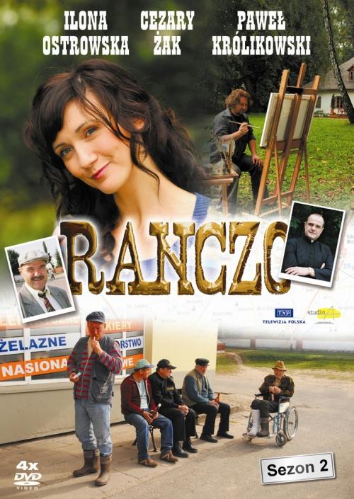 Pawel Królikowski and Ilona Ostrowska in Ranczo (2006)