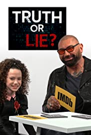 Truth or Lie With Dave Bautista and Chloe Coleman Poster