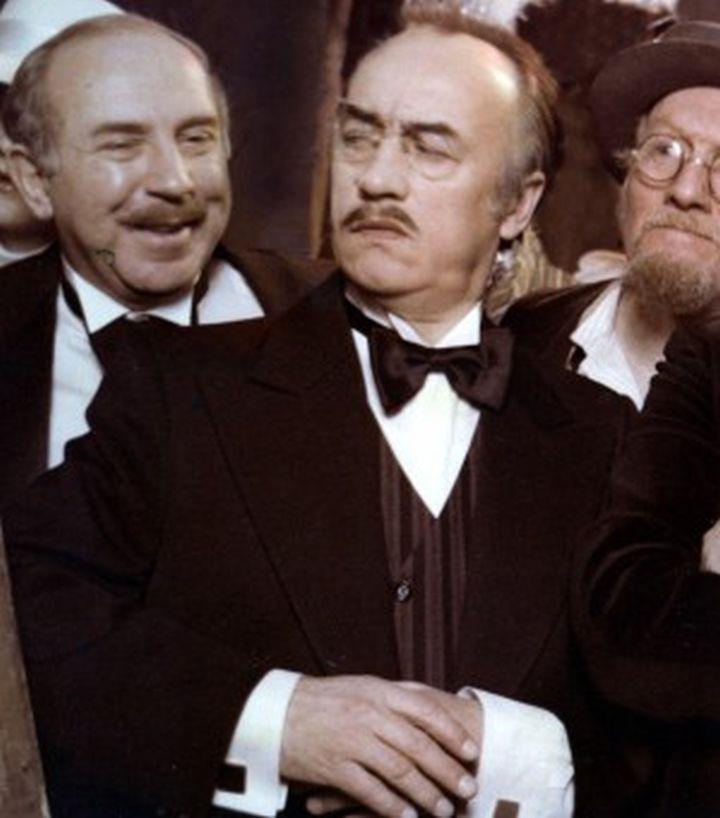 Wlodzimierz Kwaskowski, Wieslaw Michnikowski, and Edward Wichura in Hallo Szpicbródka, czyli ostatni wystep króla kasiarzy (1978)