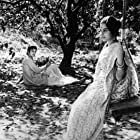 Soumitra Chatterjee and Madhabi Mukherjee in Charulata (1964)