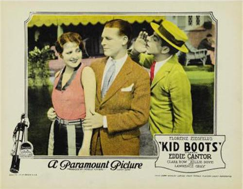 Eddie Cantor, Billie Dove, and Lawrence Gray in Kid Boots (1926)
