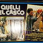 Dario Casalini, Luigi De Filippo, Tommy Givogre, and Luana Ravegnini in Quelli del casco (1988)