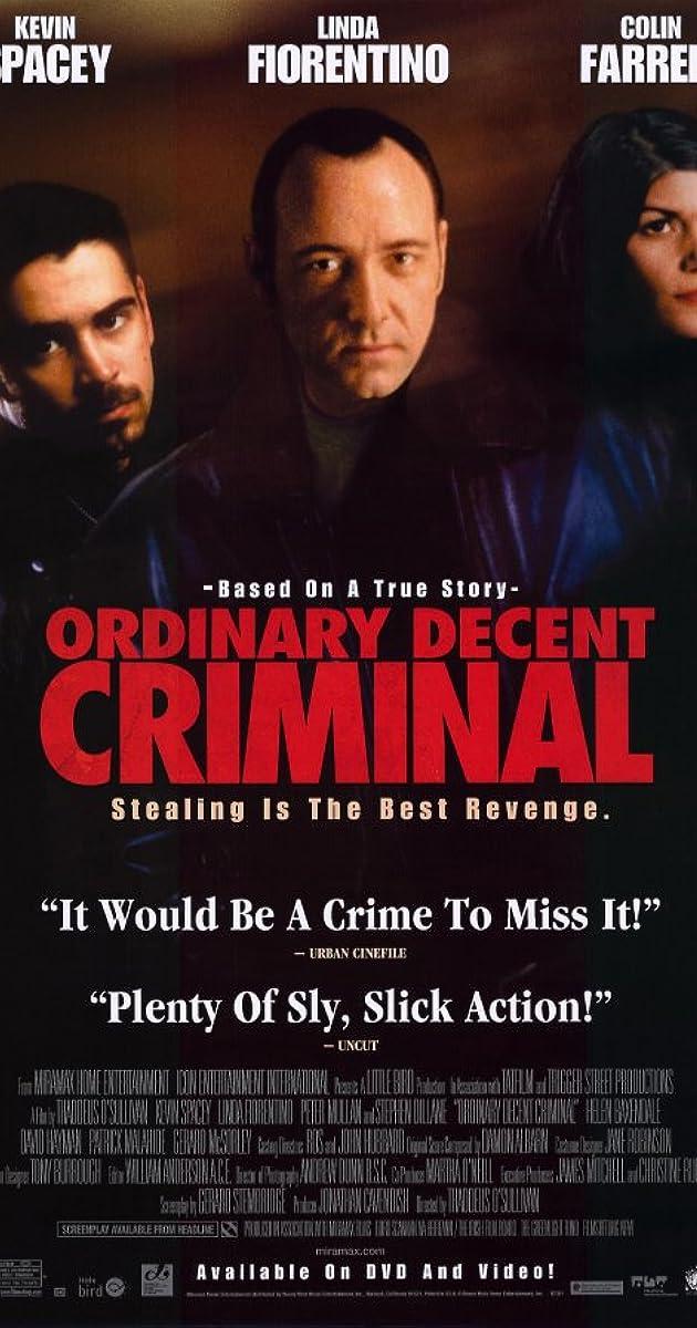 Subtitle of Ordinary Decent Criminal