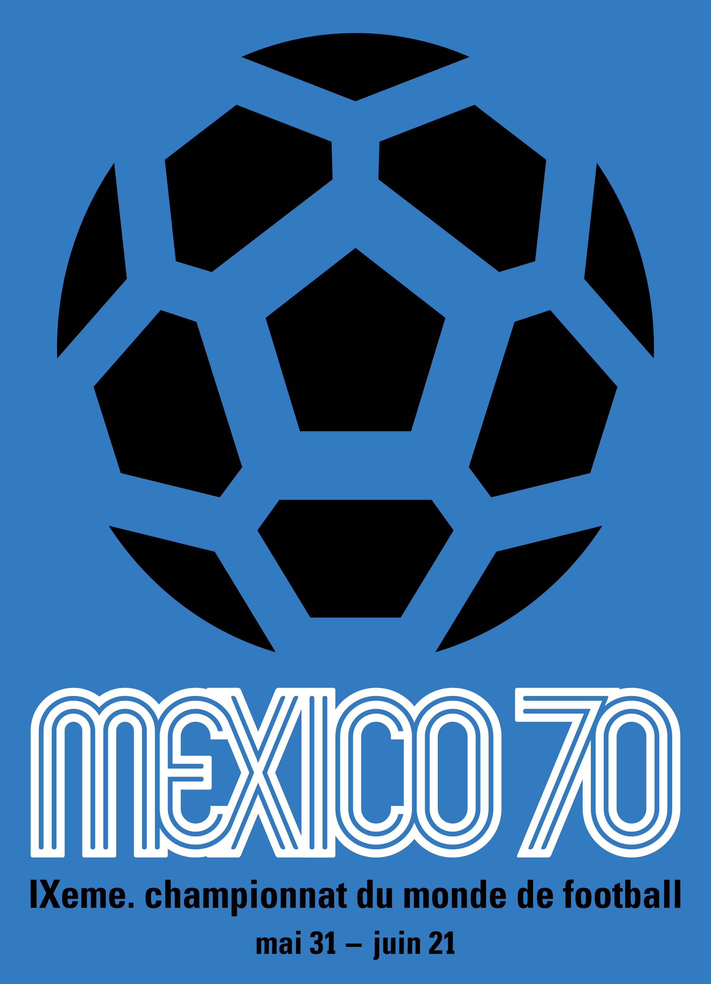 Logo Piala Dunia FIFA 1970.